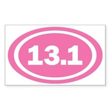 13.1 Pink Oval True Decal