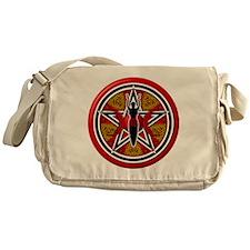 Red Goddess Pentacle - 02 Messenger Bag