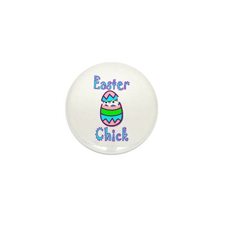 Easter Chick Mini Button