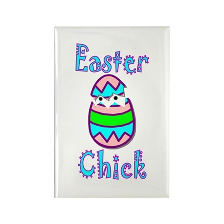 Easter Chick Rectangle Magnet (10 pack)