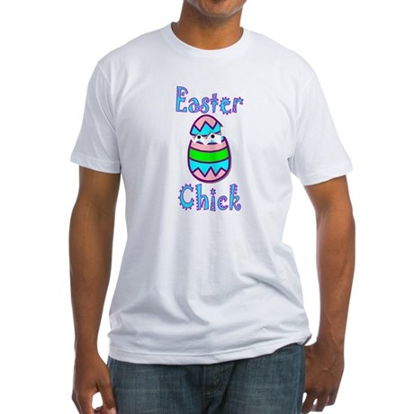 Easter Chick Fitted T-Shirt