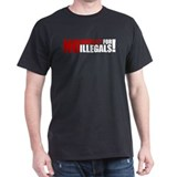 No Amnesty Black T-Shirt