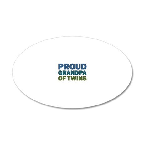PROUDGpa 20x12 Oval Wall Decal