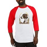 German Shorthaired Pointer Christmas Baseball Jers