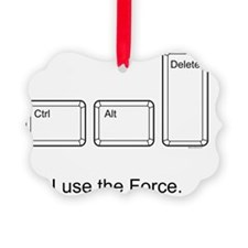 I use the Force Tee Shirt Ornament