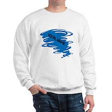 Blue Tornado Sweatshirt
