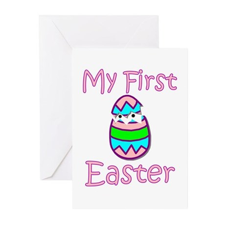 Girl First Easter Greeting Cards (Pk of 10)