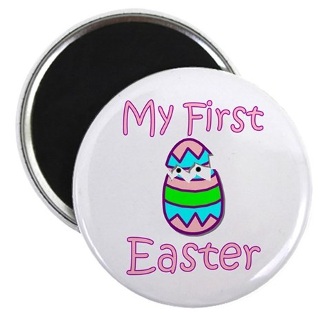 Girl First Easter Magnet