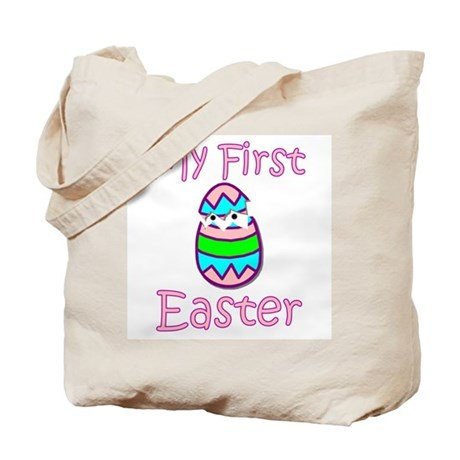 Girl First Easter Tote Bag