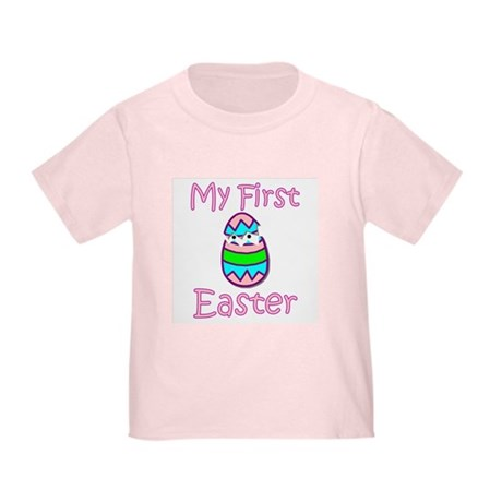 Girl First Easter Toddler T-Shirt
