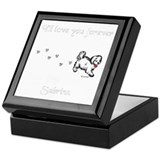 Personalized Tile Keepsake Box (Sabrina)