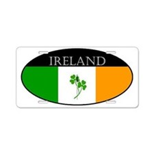 Ireland_Clover and sword_sm Aluminum License Plate