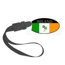 Ireland_Clover and sword_smaller Luggage Tag