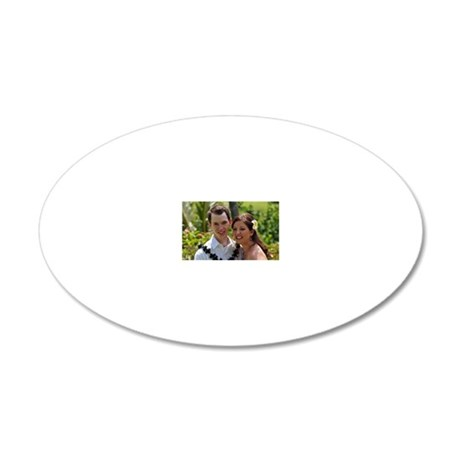Married_Photo 20x12 Oval Wall Decal