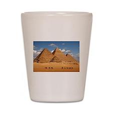 Pyramids of Egypt Shot Glass