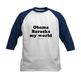 Obama Baracks my world Tee