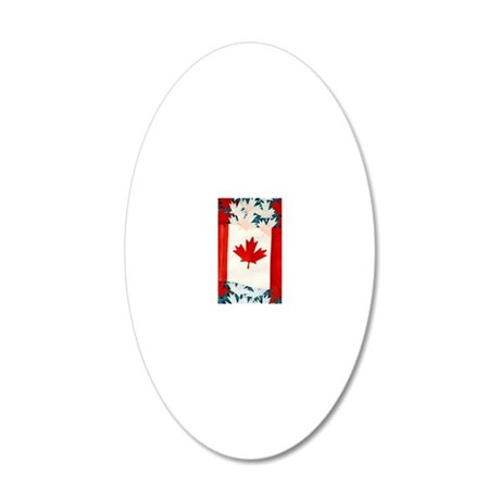 cana2 20x12 Oval Wall Decal