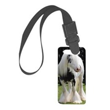 Gypsy Horse Stallion Luggage Tag