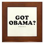 Got Obama? Framed Tile