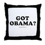 Got Obama? Throw Pillow