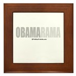 Obamarama Framed Tile