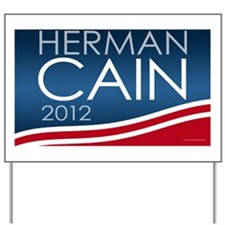 11x17_print_herman_cain Yard Sign