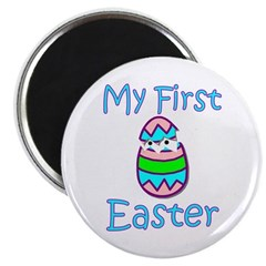 Boy First Easter Magnet
