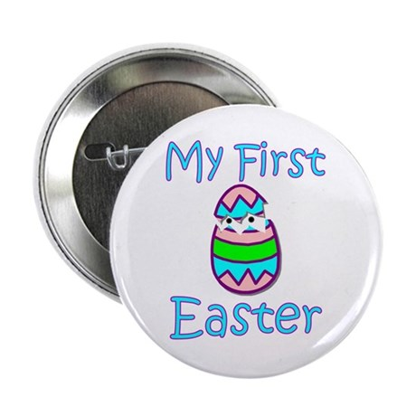 Boy First Easter Button