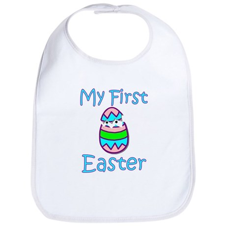 Boy First Easter Bib