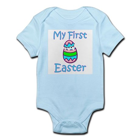 Boy First Easter Infant Bodysuit