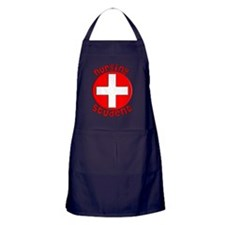 Nursing Student RED CROSS Apron (dark)