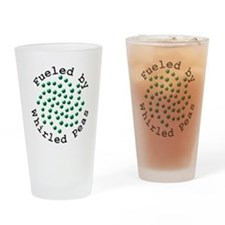 Fueled by Whirled Peas Drinking Glass