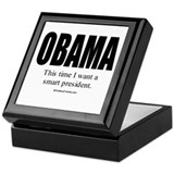 OBAMA: This time I want a smart President Tile Box