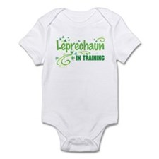 Leprechaun in training Infant Bodysuit