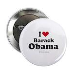 I Love Barack Obama Button
