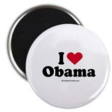 I Love Obama Magnet