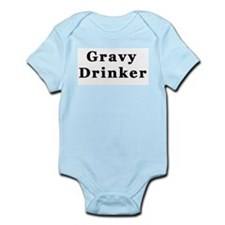Gravy Drinker Infant Creeper