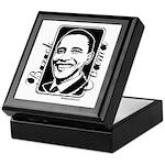 Barack Obama Portrait Keepsake Box