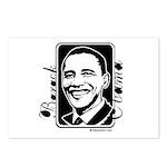 Barack Obama Portrait Postcards (Package of 8)