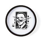 Barack Obama Portrait Wall Clock