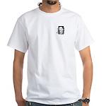 Barack Obama Portrait White T-shirt