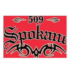 Spokane 509 Magnet Postcards (Package of 8)