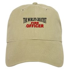 """The World's Greatest Fire Officer"" Baseball Cap"