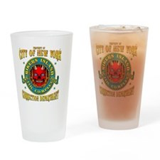 RIKERS_ISLAND_5x4_pocket Drinking Glass