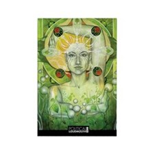 WAR WOMEN GAIA 11x17 Rectangle Magnet