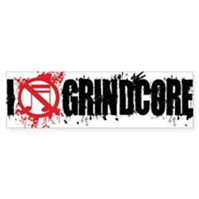 I-Love-Grindcore-mug-white Bumper Sticker