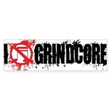 I-Love-Grindcore-mug-white Car Sticker