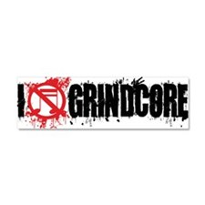 I-Love-Grindcore-mug-white Car Magnet 10 x 3