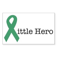 LITTLEHEROGREEN Decal