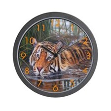 Beautiful Tigers Wall Clock